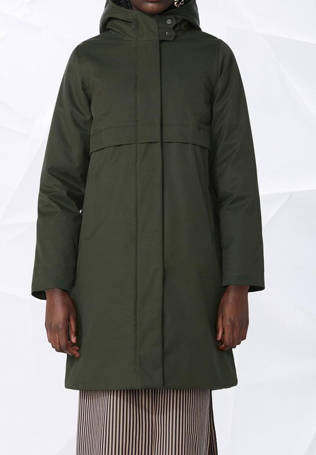 Winter coat - army green