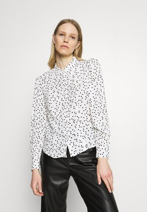 HEART FITTED - Button-down blouse - off-white