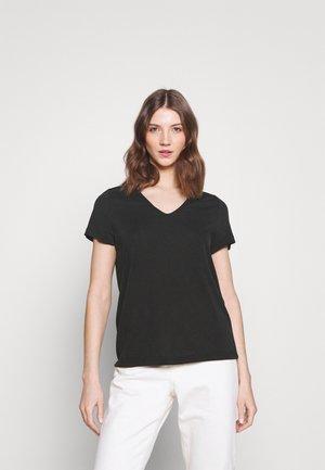 YASLUNA TEE - Basic T-shirt - black