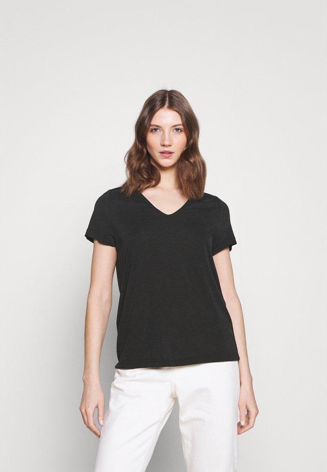 YASLUNA TEE - T-shirt basique - black