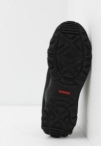 adidas Performance - TERREX HYPERHIKER LOW UNISEX - Hiking shoes - core black/grey five - 5