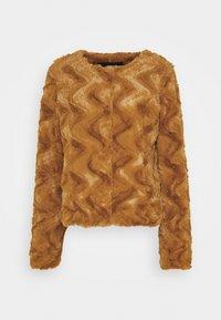 Vero Moda Tall - VMCURL SHORT JACKET - Winter jacket - buckthorn brown - 3