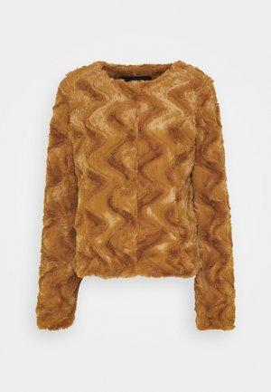 VMCURL SHORT JACKET - Winter jacket - buckthorn brown