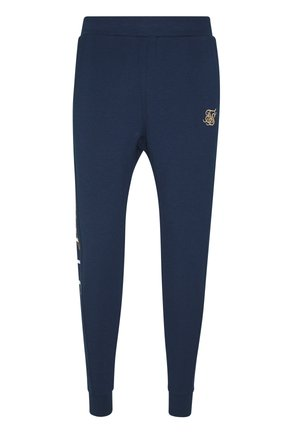 SIGNATURE TRACK PANTS - Verryttelyhousut - navy
