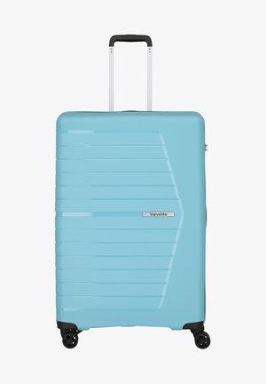 Wheeled suitcase - hellblau
