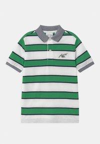 Lacoste - Poloshirts - white/chervil-navy blue - 0