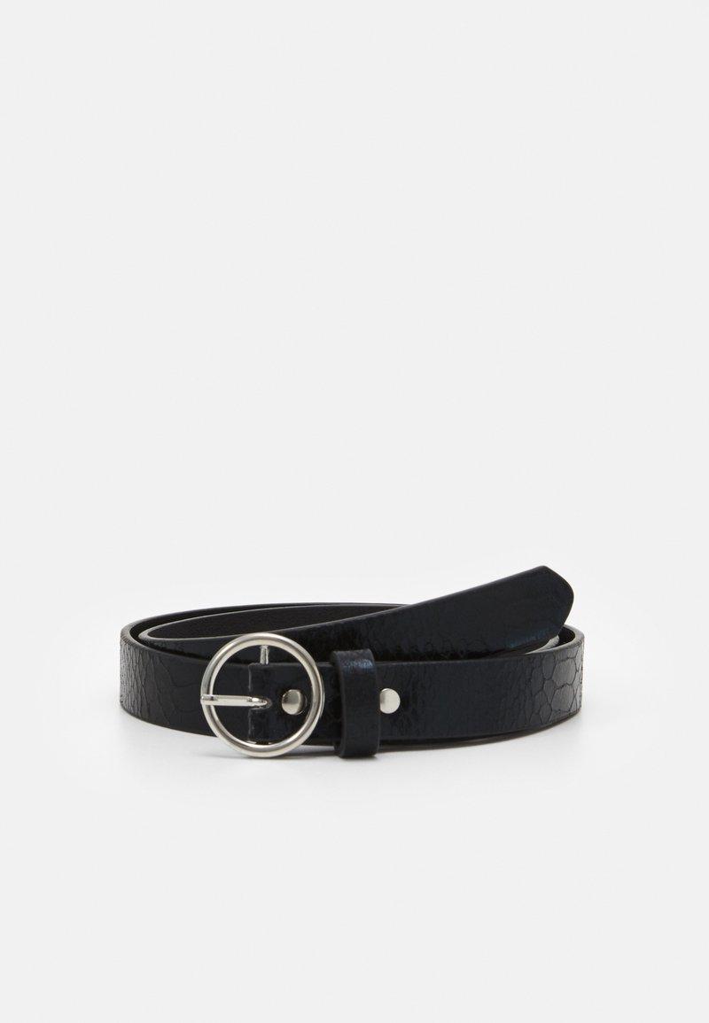 ONLY - ONLLAURA SNAKE BELT - Belt - black