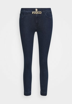 SABRINA TROUSERS - Jeans Skinny - dark blue