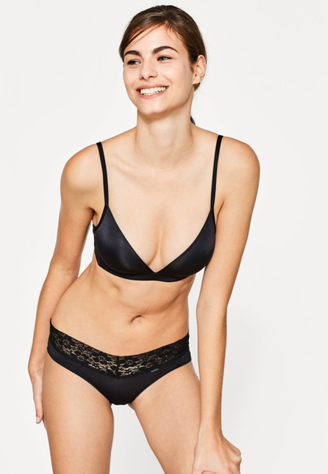 BROOME - Triangle bra - black