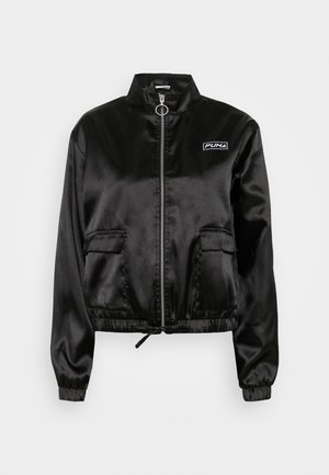 JACKET - Summer jacket - black