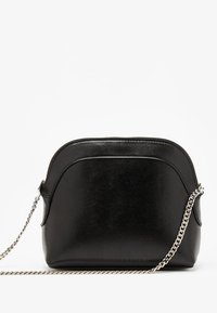 Bershka - MIT KETTE  - Across body bag - black