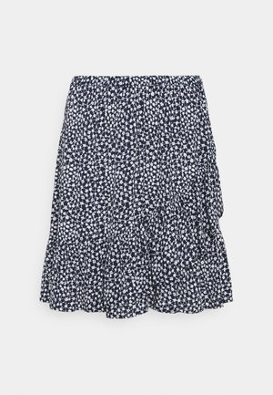 SKIRT FIONA - Mini skirts  - navy