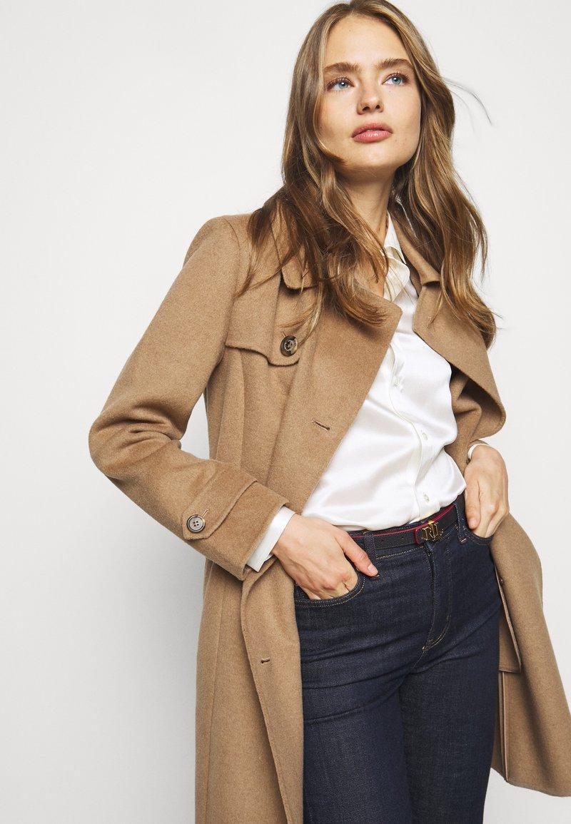 Lauren Ralph Lauren - DRESS CASUAL - Vyö - navy/tan