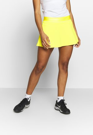 FLOUNCY SKIRT - Sports skirt - opti yellow/white