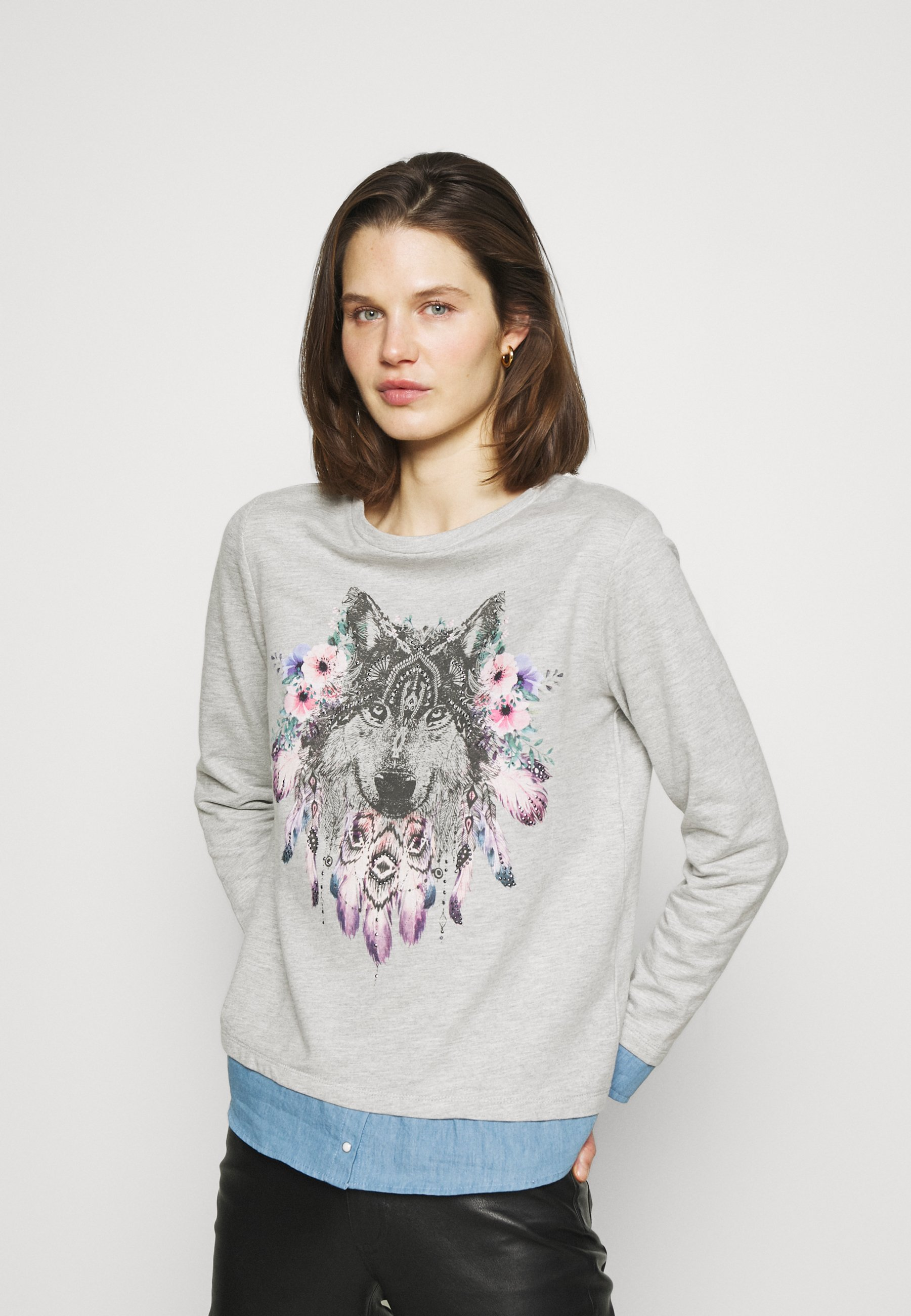 Women PLUMAS LOBO FALDON - Sweatshirt