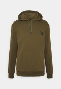 PS Paul Smith - ZEBRA SOPO HOODIE - Hoodie - khaki - 4