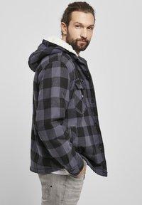 Brandit - LUMBER - Light jacket - black/grey - 4