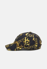 Versace Jeans Couture - BASEBALL WITH CENTRAL SEWING UNISEX - Pet - nero/oro - 2