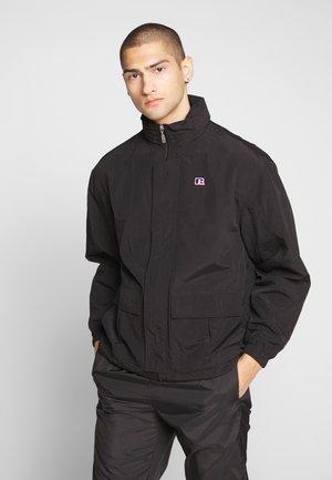GLIDER - Summer jacket - black