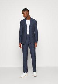 Calvin Klein Tailored - SPECKLED SUIT - Suit - blue - 1