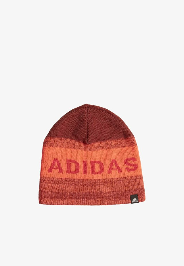 GRAPHIC BEANIE - Bonnet - red
