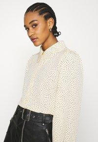 Monki - Button-down blouse - light yellow - 3