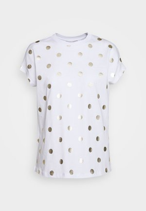 T-shirts med print - cloud dancer