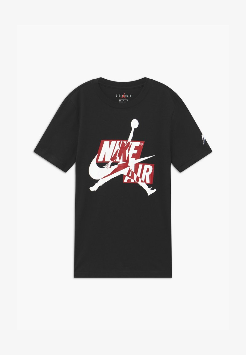 Jordan - JUMPMAN CLASSICS CREW - Print T-shirt - black