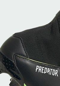 adidas Performance - PREDATOR FOOTBALL BOOTS FIRM GROUND UNISEX - Botas de fútbol con tacos - siggnr/ftwwht/cblack - 9