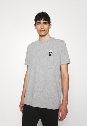 CREWNECK - T-shirt imprimé - dark grey melange