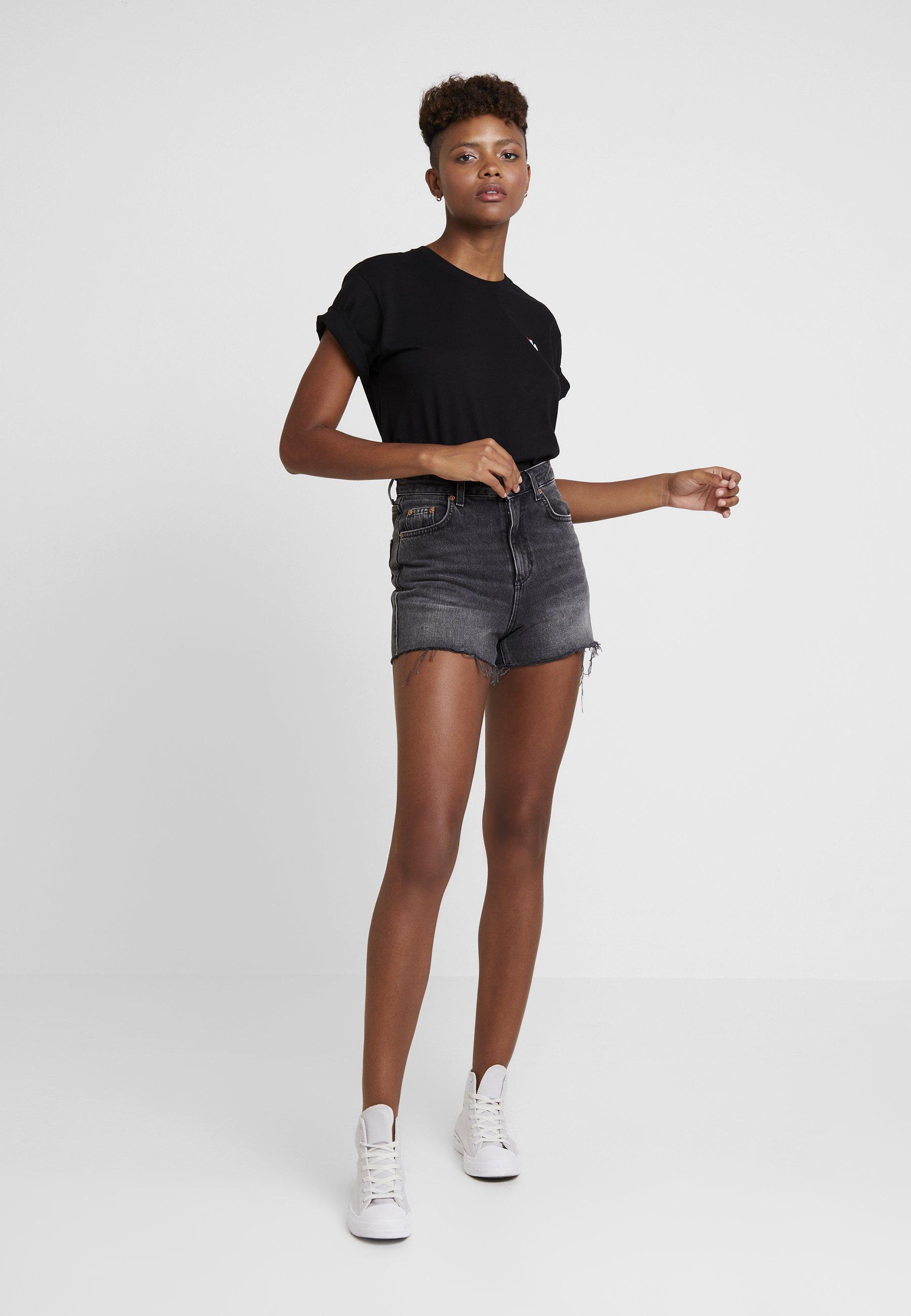 Fila Eara Tee - T-shirts Black/svart