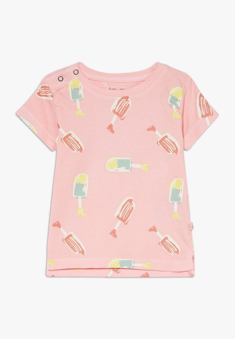 Smitten Organic - TEE BABY ZGREEN - Print T-shirt - powder pink