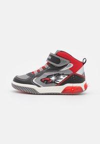 Geox - INEK BOY - High-top trainers - grey/red - 0