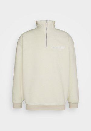 OFF HALFZIP - Fleece trui - beige