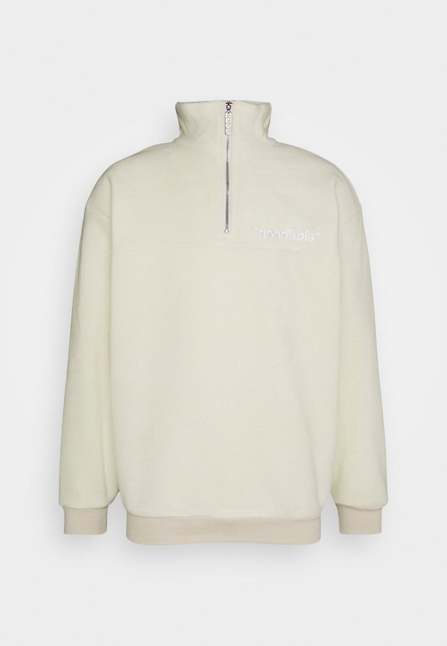 OFF HALFZIP - Sweat polaire - beige