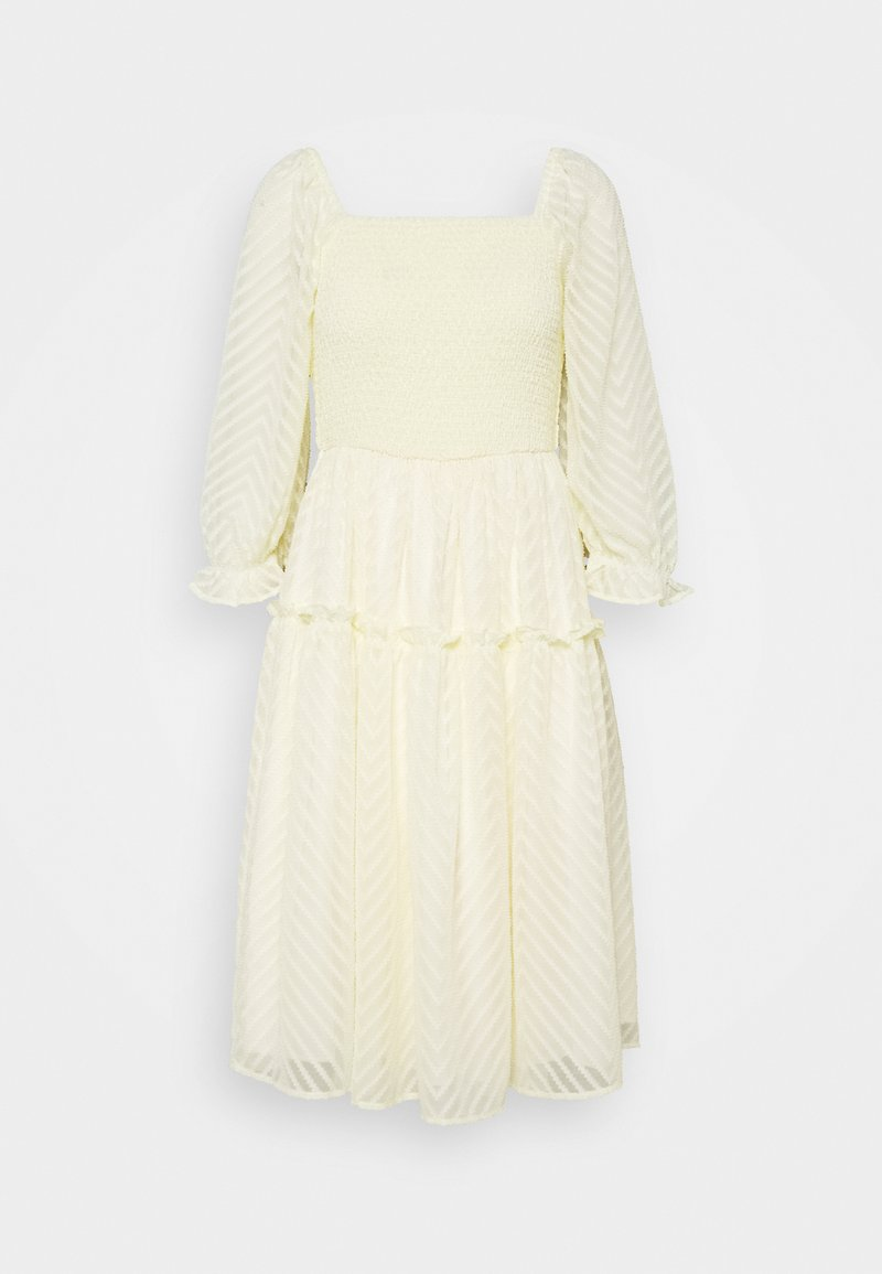 YAS - YASDEANNA 3/4 DRESS - Cocktailklänning - yellow