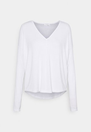 THE VEE - Long sleeved top - white
