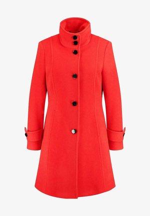 MIT WOLLE UND KASCHMIR - Short coat - red