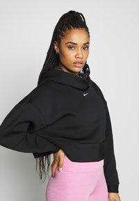 Nike Performance - HOODIE - Jersey con capucha - black/metallic silver - 3