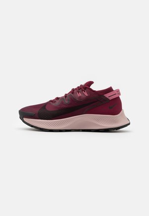 PEGASUS TRAIL 2 - Obuwie do biegania Szlak - dark beetroot/black/desert berry