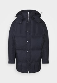 TILES LONG COAT - Winter jacket - navy