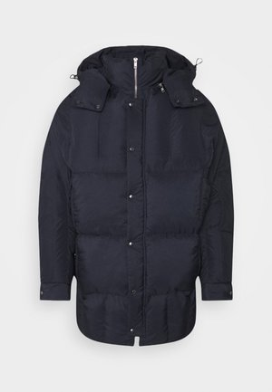 TILES LONG COAT - Chaqueta de invierno - navy