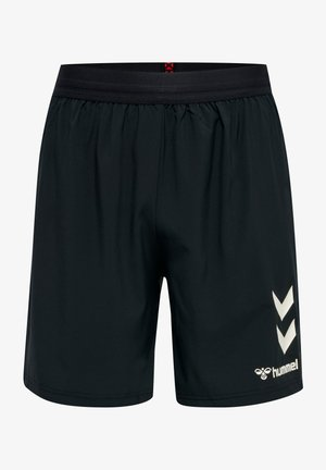 PRO XK SHORTS WOVEN - Sports shorts - caviar/marshmallow