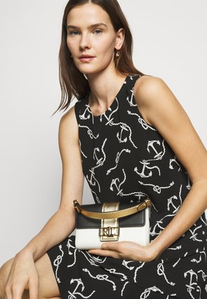 SMOOTH SPENCER - Handbag - black/antique gold-coloured
