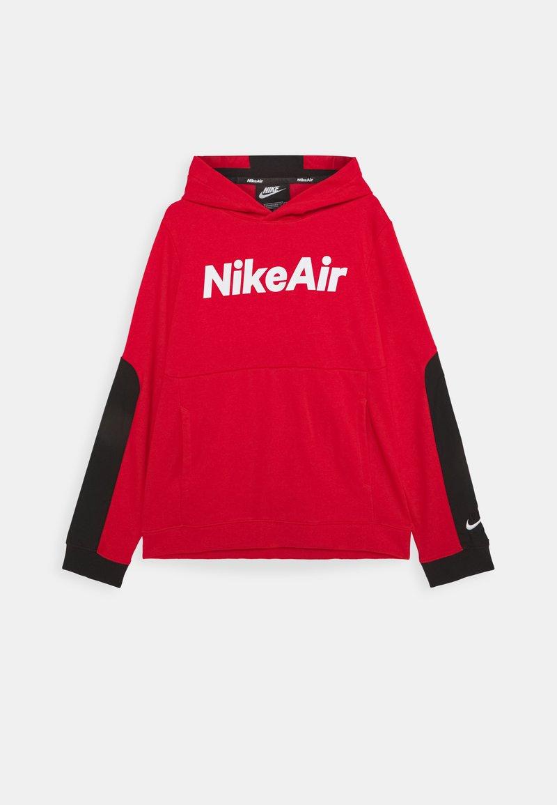 Nike Sportswear - AIR HOODIE UNISEX - Hoodie - university red/black/white