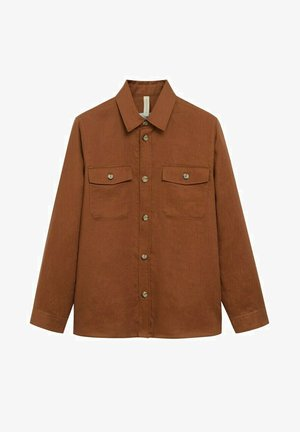 Camicia - burnt orange