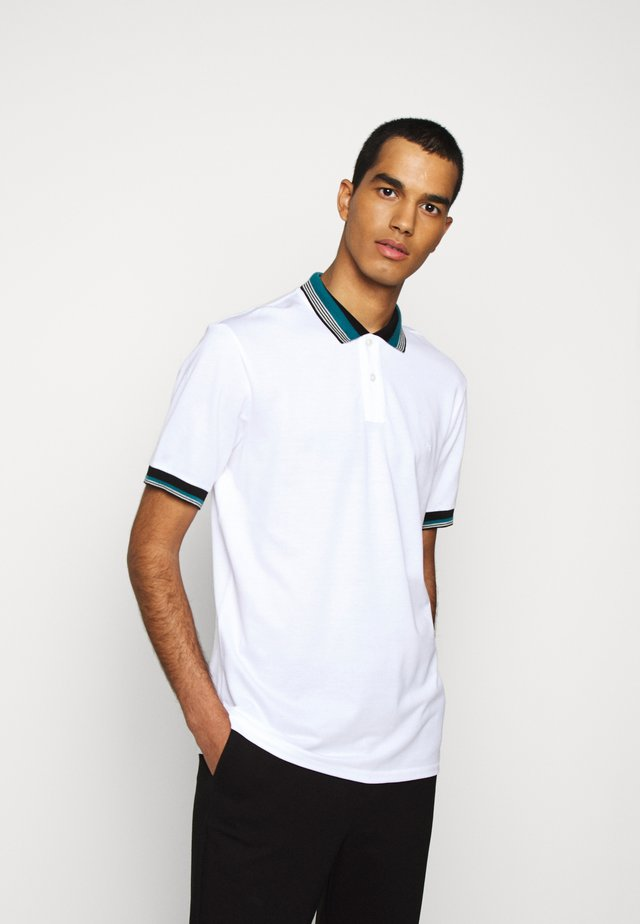 MENS REG FIT - Polotričko - white