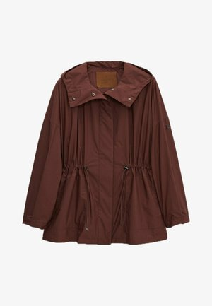 Parka - dark purple