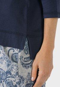 mey - HOMEWEAR SHIRT SERIE NIGHT2DAY - Pyjama top - night blue - 2