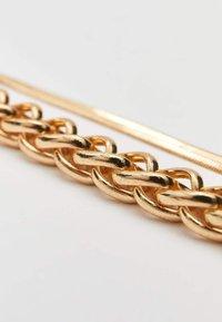Stradivarius - 2ER-SET  - Bracelet - gold - 4